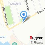 Автопоинт на карте Санкт-Петербурга