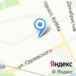 Рейдер на карте Санкт-Петербурга