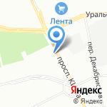 Комде на карте Санкт-Петербурга