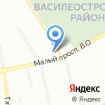Неотон на карте Санкт-Петербурга