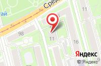 Схема проезда до компании Серебряный Век в Санкт-Петербурге