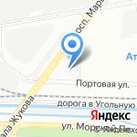 ПЕТЕРБУРГСКАЯ ТОПЛИВНАЯ КОМПАНИЯ на карте Санкт-Петербурга