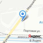 Грузовой шиномонтаж на карте Санкт-Петербурга