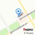 Магазин свежей выпечки на карте Санкт-Петербурга