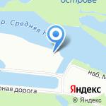 Морской яхт-клуб на карте Санкт-Петербурга