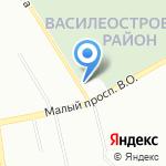Дом ночного пребывания для лиц без определенного места жительства на карте Санкт-Петербурга