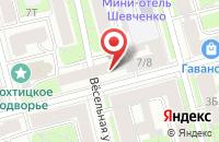 Схема проезда до компании Нева-Прогресс в Санкт-Петербурге