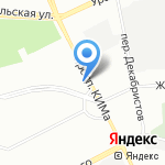 Цирюльня на карте Санкт-Петербурга