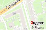 Схема проезда до компании Крона в Санкт-Петербурге