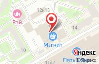 Схема проезда до компании Балтоптика в Санкт-Петербурге