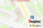 Схема проезда до компании ДОСААФ России в Санкт-Петербурге