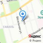 Продуктовый магазин эконом-класса на карте Санкт-Петербурга