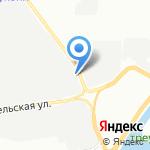 Рыбообрабатывающий комбинат №1 на карте Санкт-Петербурга