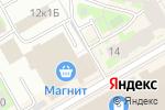 Схема проезда до компании Вкус Сибири в Санкт-Петербурге