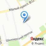 Физико-математический лицей №30 на карте Санкт-Петербурга