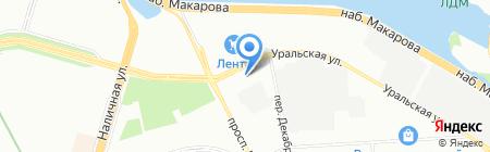 К-Раута на карте Санкт-Петербурга
