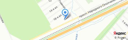 Комитет по взаимодействию застройщиков и собственников жилья на карте Санкт-Петербурга