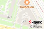 Схема проезда до компании СМУ-98 в Санкт-Петербурге
