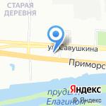 Аларм-Моторс на карте Санкт-Петербурга
