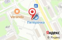 Схема проезда до компании Лада в Санкт-Петербурге