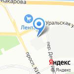 Морион на карте Санкт-Петербурга