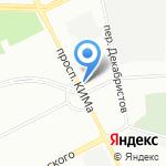 Аркуда на карте Санкт-Петербурга
