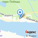 7 футов на карте Санкт-Петербурга