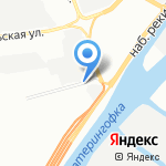 Lom-24 на карте Санкт-Петербурга