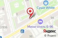 Схема проезда до компании Арсенал в Иваново