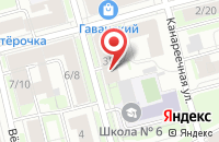 Схема проезда до компании Инкомпро в Санкт-Петербурге
