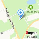 Центр социальной помощи семье и детям Выборгского района на карте Санкт-Петербурга