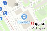 Схема проезда до компании ТурСоюз Две Столицы в Санкт-Петербурге