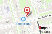 Схема проезда до компании Бельведер в Санкт-Петербурге