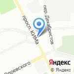 Юридическое бюро Юрьева на карте Санкт-Петербурга