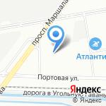 Крым-Сочи.рф на карте Санкт-Петербурга