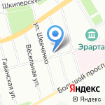 Солярий на карте Санкт-Петербурга