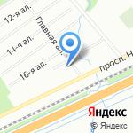 Трилогия на карте Санкт-Петербурга