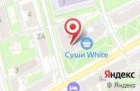 Схема проезда до компании Элемент Парадигмы в Санкт-Петербурге