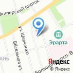 Начальная школа-детский сад №36 на карте Санкт-Петербурга