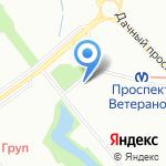 Магазин товаров для рыбалки на карте Санкт-Петербурга