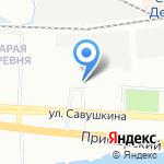 Автовита на карте Санкт-Петербурга