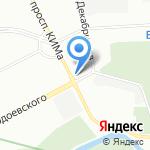 Юлдуз на карте Санкт-Петербурга