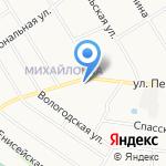 Бусинка на карте Санкт-Петербурга