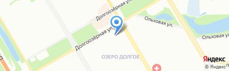 Начальная школа-детский сад №696 на карте Санкт-Петербурга