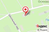 Схема проезда до компании Проспект Просвещения в Парголово