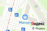 Схема проезда до компании Beerloga в Санкт-Петербурге