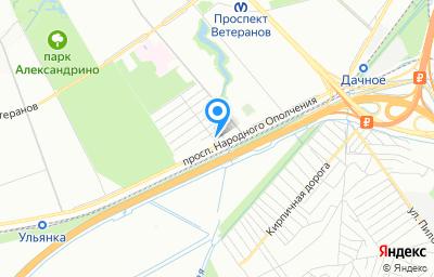 Местоположение на карте пункта техосмотра по адресу г Санкт-Петербург, пр-кт Народного Ополчения, д 149А