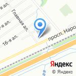 Кони-Сервис на карте Санкт-Петербурга