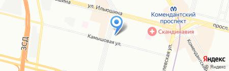 Лига Ставок на карте Санкт-Петербурга