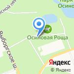 АвтоНордСервис на карте Санкт-Петербурга